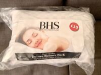 BHS Hotel Quality Deluxe Bounceback Hollowfibre Pillows PACK OF 2
