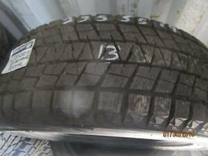 235/55R19 SINGLE ONLY USED BRIDGESTONE WINTER TIRE