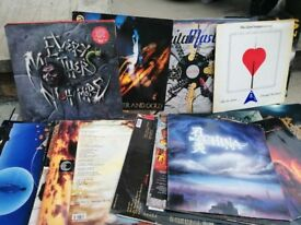 Selection of vinyl LPs