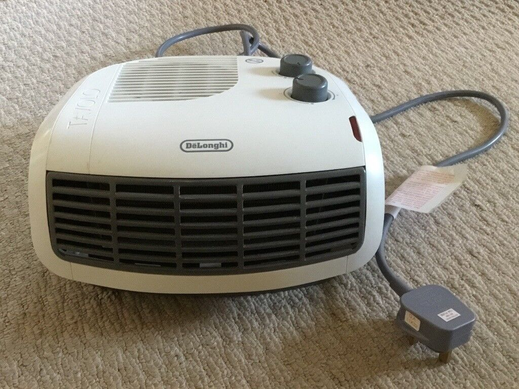 De'Longhi 3kW Electric Fan Heater