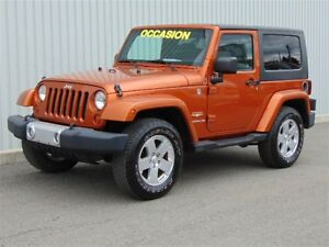 2010 Jeep Wrangler SAHARA * ORANGE * MANUEL * WOW!!! *