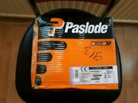 1 x Box Paslode 3.1x 75mm Ring, 2200 nails and 2x gas