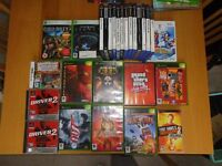 PlayStation, Xbox, Nintendo DS and PSP game cases and manuals only
