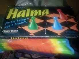 Vintage 1972 Halma Board Game - Chatham