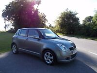 2007 57 SUZUKI SWIFT 1.5 GLX AUTOMATIC 5 DOOR HATCH BACK