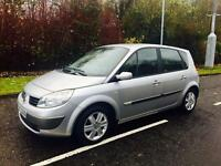 "2006 RENAULT SCENIC MOTED AND TAXED 16"" RENAULT ALLOYS ALL GOOD TYRES AIR CON NEW"
