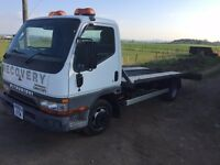 2000 MITSUBISHI CANTER 3.5T RECOVERY TRANSPORTER VEHICLE MOT 3/2018 PART EX WELCOME