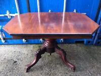Vintage tilt top table with FREE DELIVERY PLYMOUTH AREA