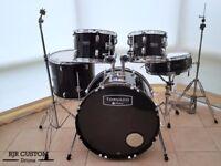 Refurbished Mapex Tornado 5 Piece Drum Kit with Hardware