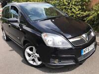2007(57) Vauxhall zafira sri 1.8 petrol 140bhp 7 seats full service history