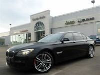 2012 BMW 750LI LOADED M-Sport xDrive Leather Headup Rear DVD Ent