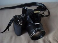 NIKON Coolpix P520 Black Digital Camera