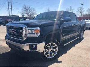 2014 GMC Sierra 1500 SLT 4x4 LEATHER NAVIGATION CHROME