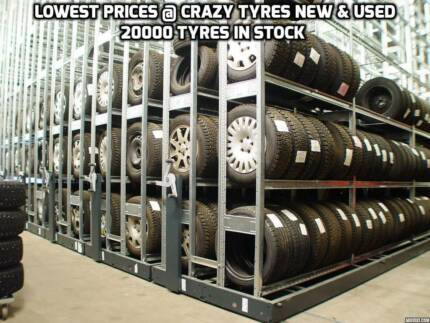 1 Second Hand Used 4x4 Tyre From $51 Each @ Crazy Tyres Bankstown Bankstown Area Preview