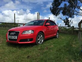 Audi A3 Sportback 2.0TDI 09 plate *2 Female Owners from new*