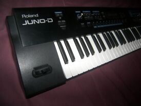 Roland JUNO-D 61-Key Keyboard , Synthesizer with 640 Tones and 20 Rhythm Sets.