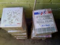 tiles [wall] 10 boxes £20