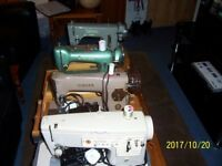 job lot of 4 sewing machines