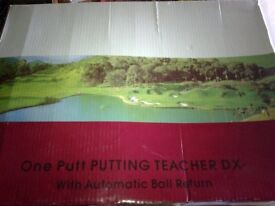 One put putting teacher