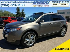 2013 Ford Edge Limited AWD *Nav* *Blind Side* *Wifi* *Heat Leath