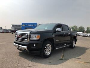 2017 GMC Canyon SLT - LEATHER, ONE OWNER, 4X4