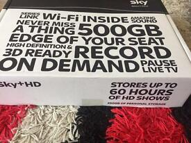 Sky HD 500gb box