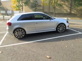 "Audi S3 19"" alloy wheels 8P A3 TT A5 Continental 245 225 35 tyres s line sport"