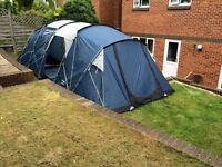 Trespass go further 8 man tent