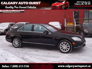 2012 Mercedes-Benz S-Class S 550 4MATIC AWD/NAVI/B.CAM/LEATHER/R