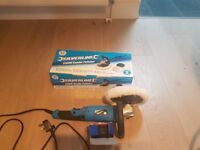 "Silverline 264569 - 1200W 180mm (7"") DIY Sander Polisher 230V [Energy Class A]"