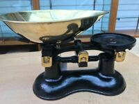 Kitchen Scales Traditional with free weights