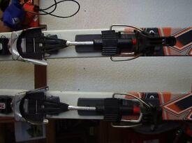 Telemark skis and bindingsK2 Back up and garmont 7tm release bindings