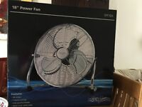 "Stirflow 18"" Power Fan"