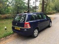 MID MONTH SALE 2006 Vauxhall Zafira 1,6 litre 5dr 7 seater