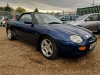 MGF - FSH - LOW OWNERS - HPI CLEAR - NEW MOT - NICE VEHICLE