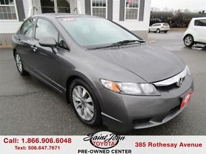 2011 Honda Civic EX-L with LEATHER $134.25 BIWEEKLY!!!