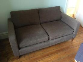 Large two seater Next sofa