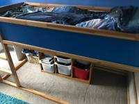 Children's IKEA high sleeper bed