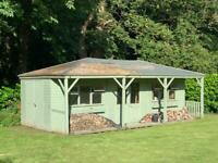 Large garden shed
