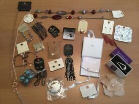 A collection of brand new jewellery fro Topshop, Oasis, Accessorize, next etc