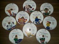 Walt Disney Baby Einstein Collection Of DVDs
