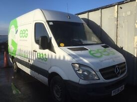 Mercedes Sprinter 311 cdi lwb 2008 year / Parts - injector - turbo - light - seat