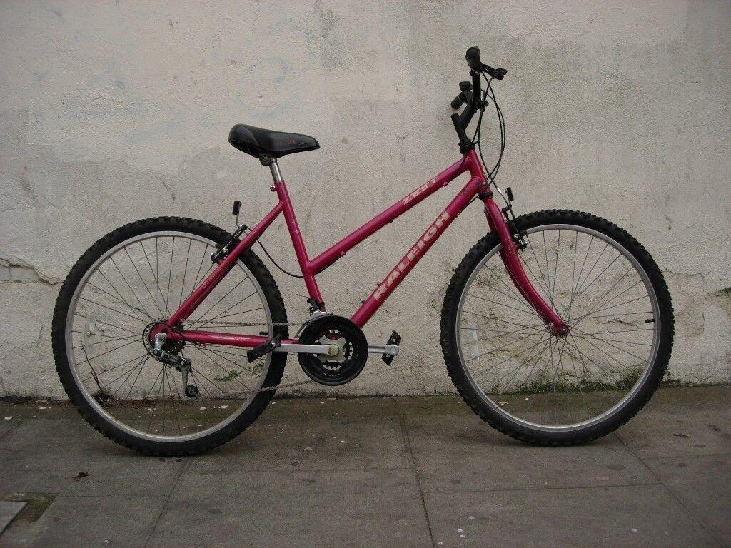 Ladies Mountain/ Commuter Bike by Raleigh, Purple, Great