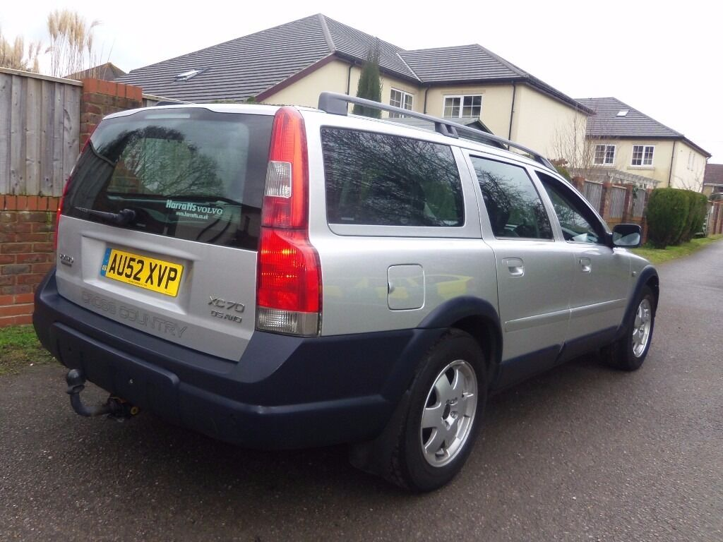 2002 volvo xc70 awd 4wd diesel d5 39 se 39 automatic estate. Black Bedroom Furniture Sets. Home Design Ideas