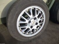 """Mitsubishi Lancer 2003-2008 15"""" SPARE WHEEL and TYRE 195/60 R15 ref.L5/1"""
