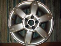 "16"" Alloys & Tyre (Wheels & Tyre) (205/55 R16) Ford Focus & Nissan Almera"