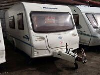 2006 Bailey Ranger 470 4 Berth End Washroom Side Dinette Lightweight Caravan