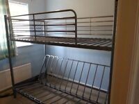 Bunk bed with futon /double bed base