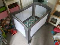Mothercare deluxe travel cot