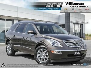 2012 Buick Enclave CXL**LTHR**AWD**BCK UP CAM**RMT START**7 PASS